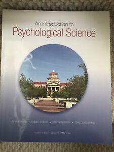 INTRO TO PSYCHOLOGY TEXTBOOK $60