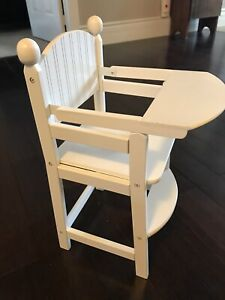 KidKraft wooden toy highchair for doll