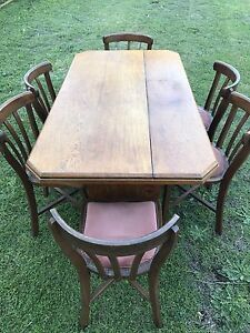 Dining Table & 6 chairs - Solid Timber Sans Souci Rockdale Area Preview