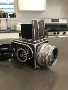 Hasselblad 500cm with 80mm 1:2.8 Carl Ziess Lens
