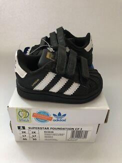 Adidas Infant Superstar Foundation cf i black