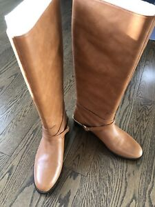 Ralph Lauren size 38 women knee high boots