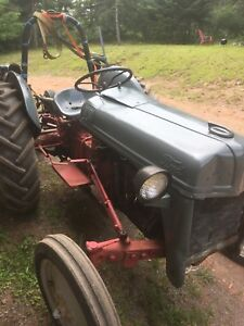 53 Ford 8n tractor