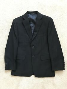 Boys Size 12 Black Daniel Hechter Paris Suit