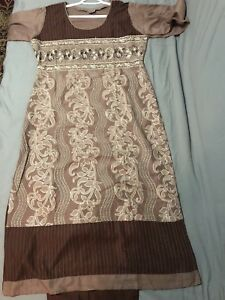 Indian Pakistani suit clothing cotton clothes  size large