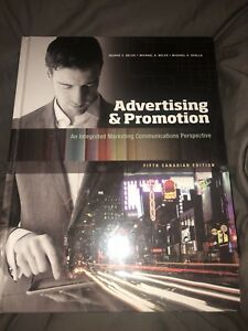 Advertising Promotion Belch In Books Ontario