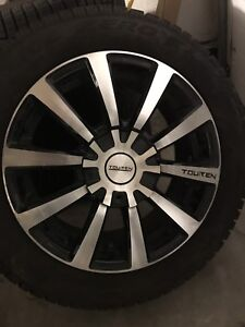 4 Pirelli snows on Touren TR3 alloy rims with less than 1000 kms