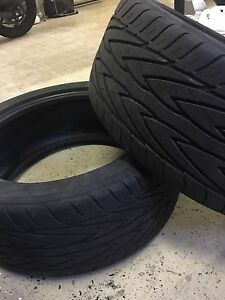 2 x TOYO PROXES4 tires (235/45ZR17)