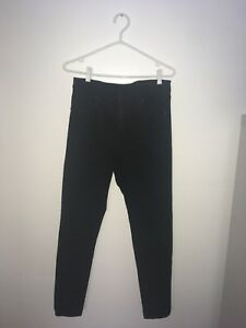 Black slim fit jeans UO