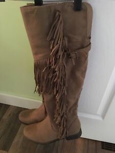 Brand New Tall Suede  Boots
