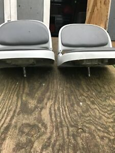 Pedal steal boat seats
