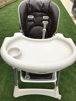 Baby leather high chair $50 only