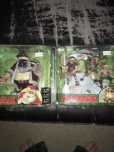 Mcfarlane Xmas Santa and Helpers