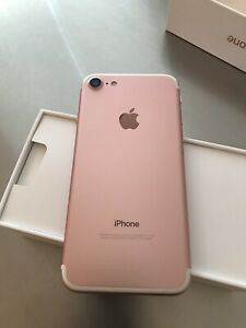 Iphone 7 rose de 32 GB