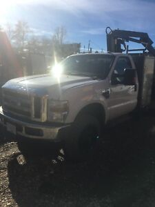2001 Ford f450 picker