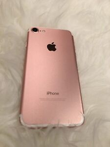 iPhone 7, rose gold, 32GB, Unlocked