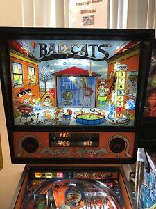 Bad Cats Pinball