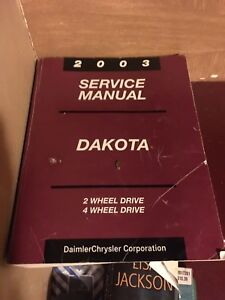 Dealership Service Manual Dodge Dakota