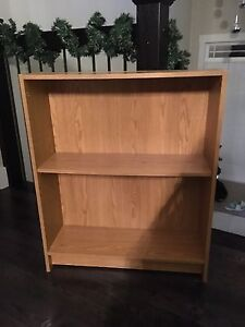 Small Oak Coloured Bookshelf