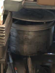 Restaurant pot and pans