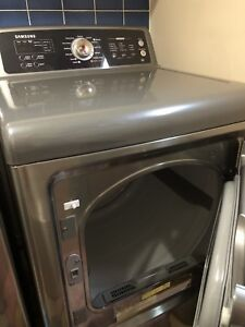Samsung top load washer and dryer pair