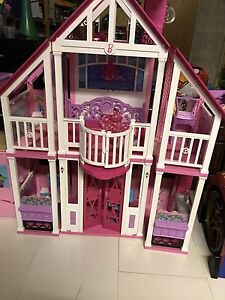 Barbie House and Van