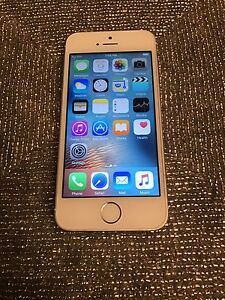 iPhone 5s.  32. gb silver Fido mint