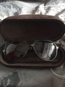 14e73f0861c7a TOM FORD Jared Sunglasses Havana Tortoise Aviators Gucci Prada