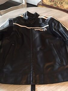EUC leather Ducati jacket
