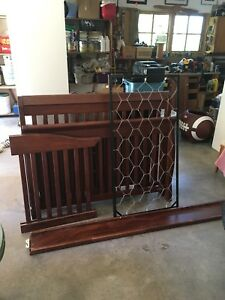 Dresser with matching crib/bed