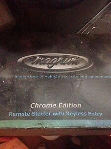Magnum remote start with keyless entry