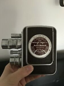 Bell and Howell wind up recorder