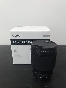 Sigma 85mm F1.4 DG Art Canon mount