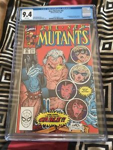 New Mutants 87: First Cable! CGC 9.4