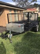 Trailer with Cage 8x5 Lisarow Gosford Area Preview
