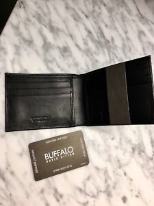 *NEW* Buffalo genuine leather mens wallet