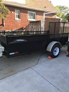 Land scaping trailer