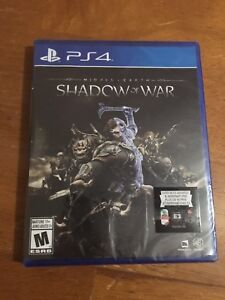 Middle Earth: Shadows of War PS4