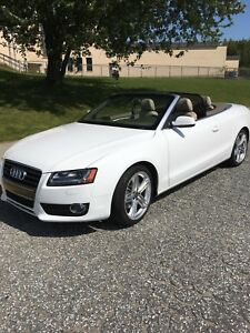 Audi A5 Quattro Convertible. SHOWROOM