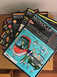 Monocle Magazines (back issues) North Perth Vincent Area Preview