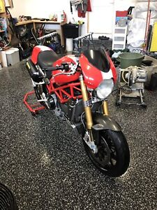 Ducati s4rs 2007 monsters
