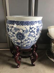 Planter urns indoor