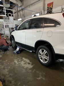 Honda CRV side steps