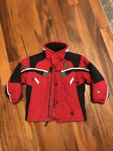 Kids spyder ski jacket.  Size 5