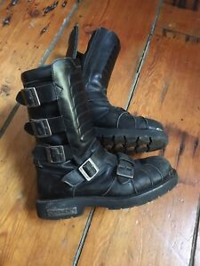 Harley Davidson motorcycle motocross vintage  boots
