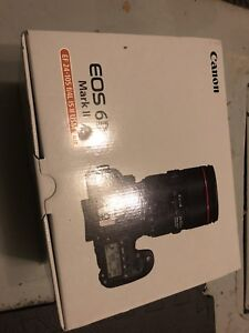 【brand new】Canon 6D II with 24-105 II kit