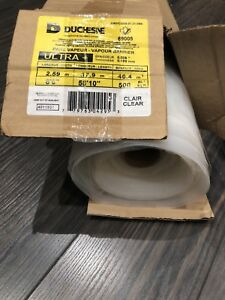 Duchess clear polyethylene film  See details in photo
