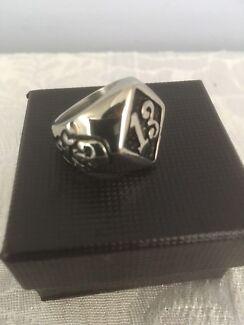 Stainless steel brand new skull rings
