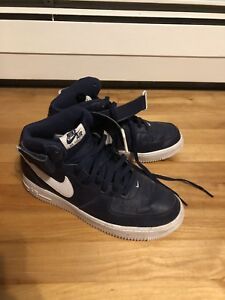 Blue air force ones mids