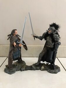 HIGHLANDER MEDIEVAL CONNOR VS. KURGAN BOX SET FIGURES